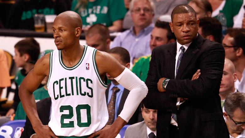 Ray Allen Doc Rivers Celtics
