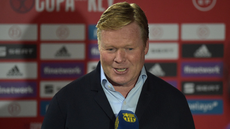 Barcelona boss Ronald Koeman