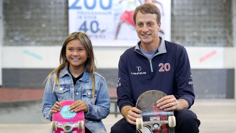 Sky Brown Tony Hawk Skateboarding