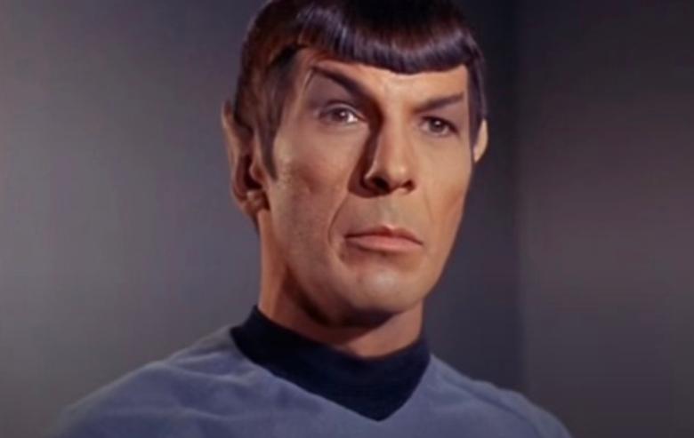 "Leonard Nimoy as Spock in ""Star Trek: The Original Series"""