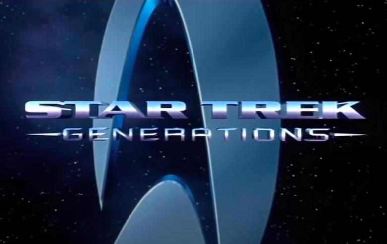 "Logo for ""Star Trek: Generations"""