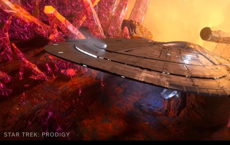 "Screenshot from the ""Star Trek: Prodigy"" trailer"