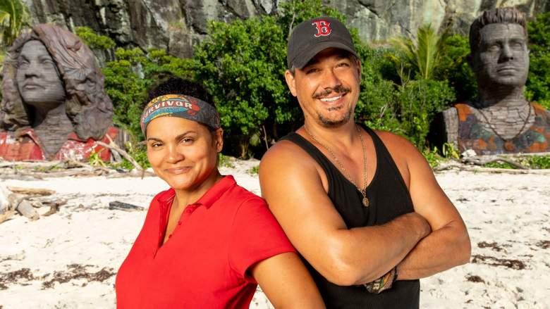 'Survivor: Island of the Idols' mentors Sandra Diaz-Twine and Boston Rob Mariano