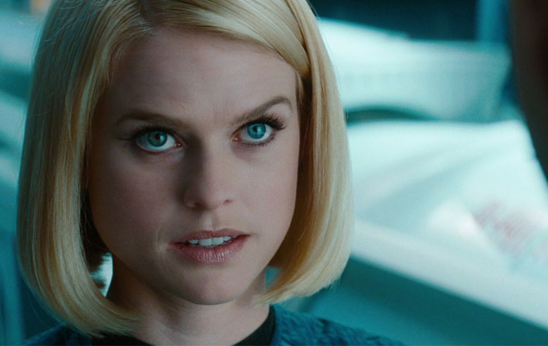 Alice Eve as Carol Marcus