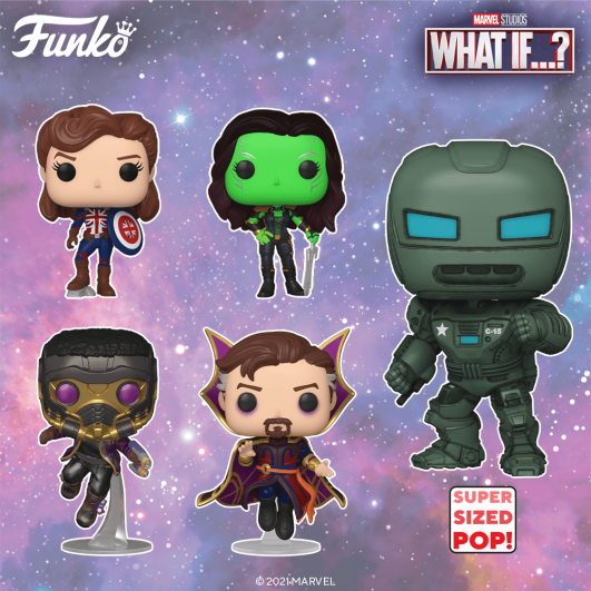 """""""What If...?"""" Funko Pop Lineup 2"""