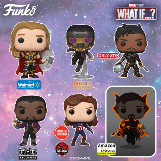 """""""What If...?"""" Funko Pop Lineup 1"""