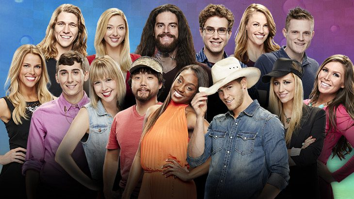 The 'Big Brother 17' cast