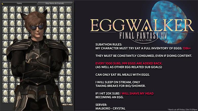 final fantasy xiv eggs