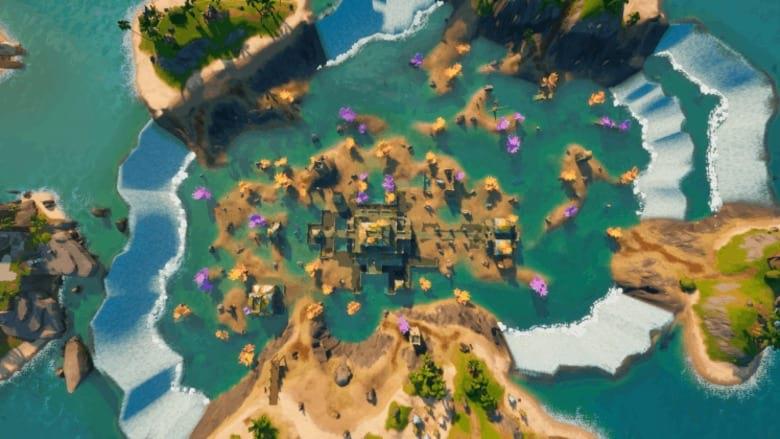 fortnite coral castle