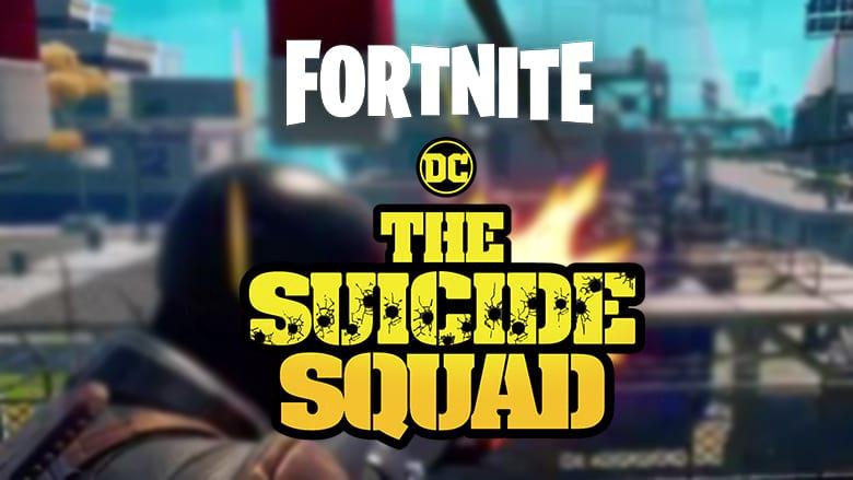 fortnite the suicide squad crossover