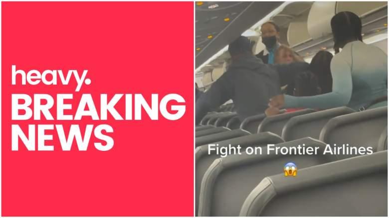 frontier flight fight video