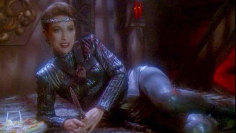 An evil Kira Nerys played by Nana Visitor