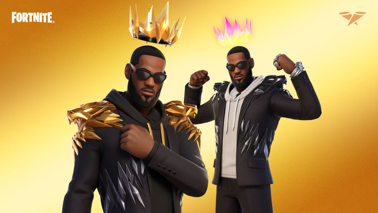lebron james outfit fortnite