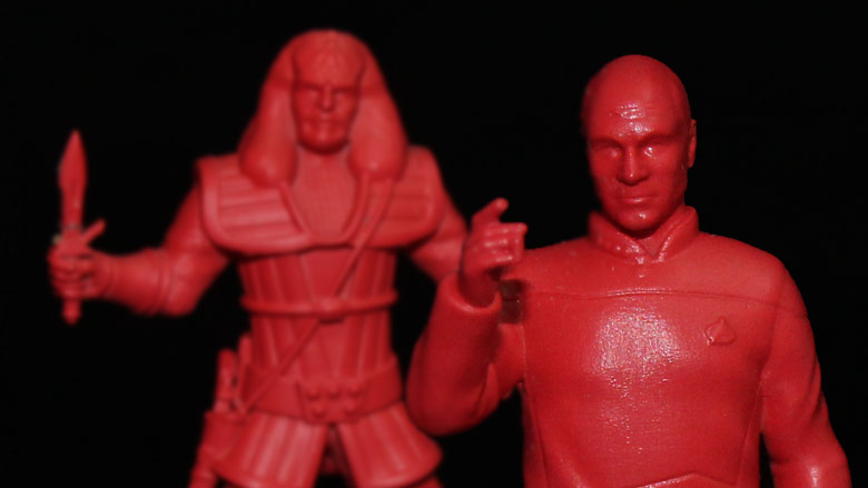 A Nano Army Jean-Luc Picard and the Son of Mogh