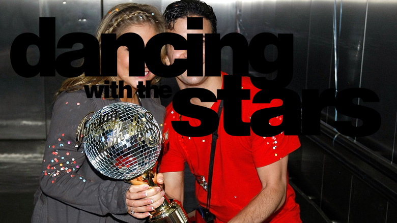 Shawn Johnson and Mark Ballas on 'Dancing With the Stars'