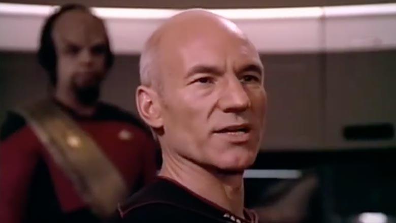 "Patrick Stewart on ""Star Trek: The Next Generation"""