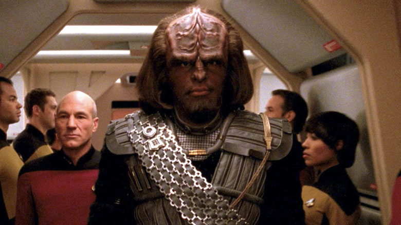 Mr. Worf (Michael Dorn)