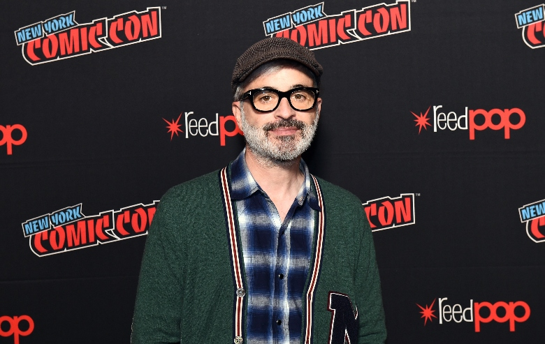 Alex Kurtzman poses for the photo during New York Comic Con 2019 Day 3 at the Hulu Theater at Madison Square Garden on October 05, 2019 in New York City.