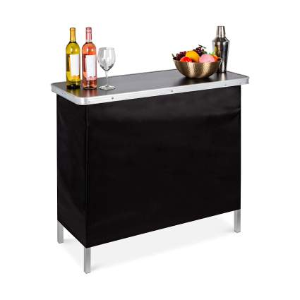 Best Choice Products Portable Pop-Up Bar Table