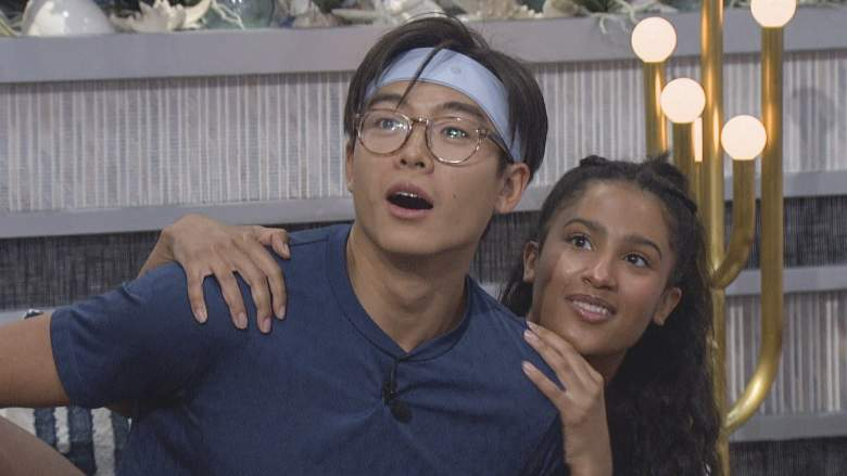 Derek Xiao and Hannah Chaddha in the 'Big Brother 23' house