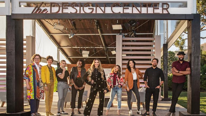 The cast of 'Design Star: Next Gen.'