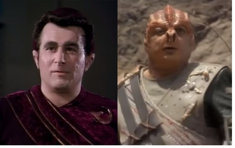 """""""Star Trek: The Next Generation"""" characters Fajo and Dathon"""