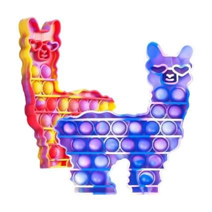 Fidget-POP-Toys-Llama Silicone Bubble Sensory