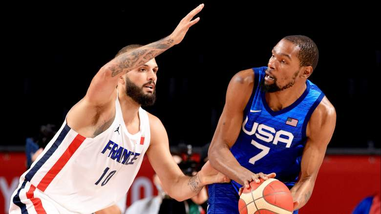 Kevin Durant and Evan Fournier