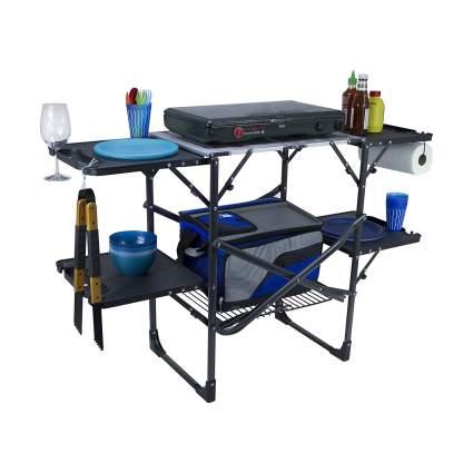 GCI Outdoor Slim-Fold Portable Folding Cook Station