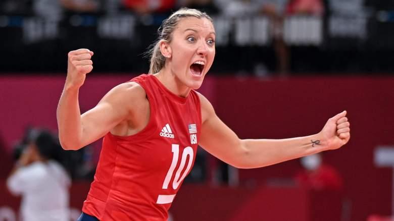 USA vs Brazil indoor volleyball watch