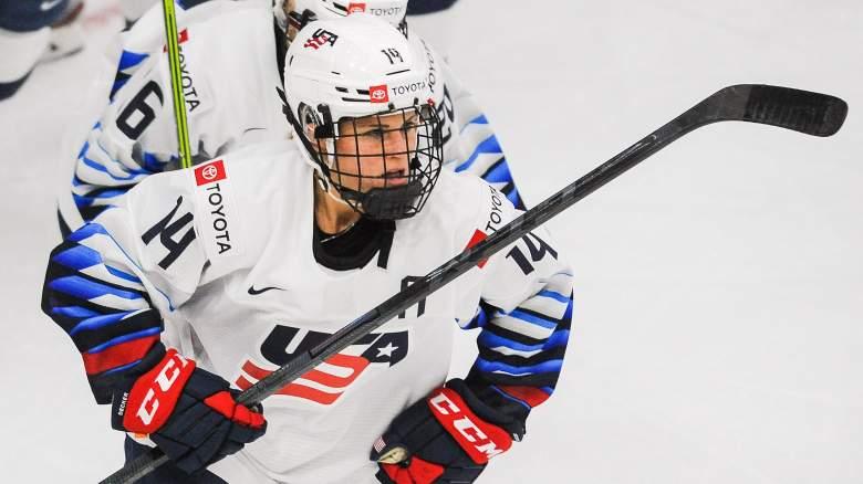 USA vs Canada women's hockey watch