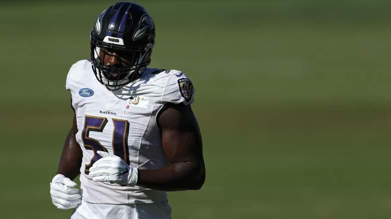 Aaron Adeoye Ravens