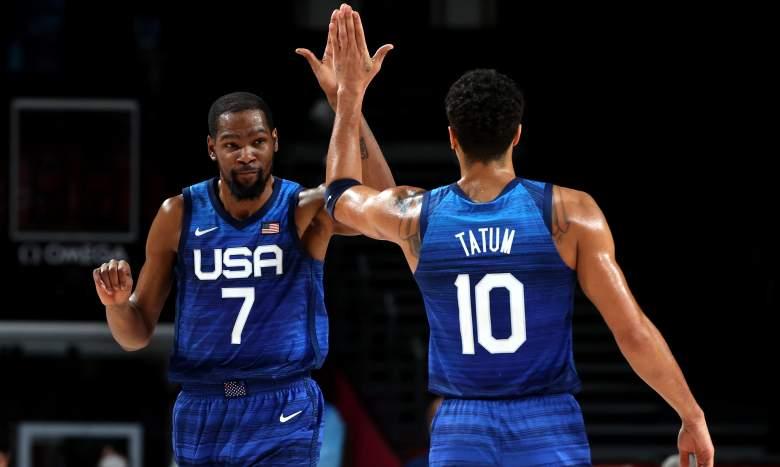 USA vs Australia basketball watch