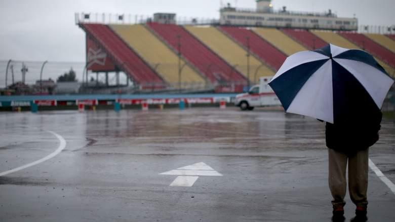Watkins Glen Rain