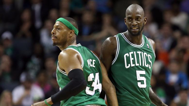 Paul Pierce Kevin Garnett Celtics