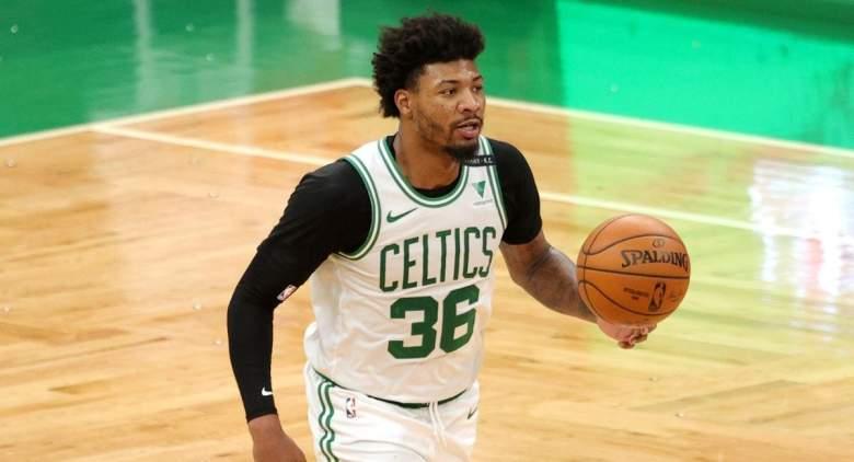 Marcus Smart sends message to Celtics fans.
