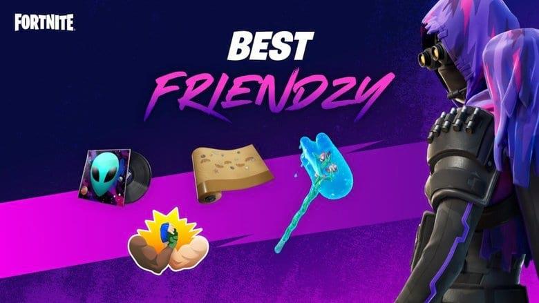 fortnite best friendzy event free cosmetics