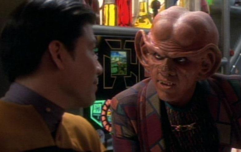 Harry Kim and Quark
