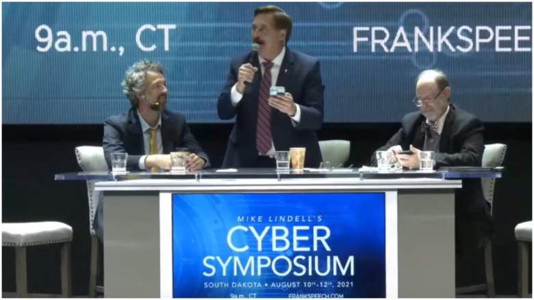 mike lindell cyber symposium live youtube