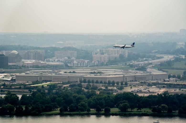 pentagon lockdown shots fired