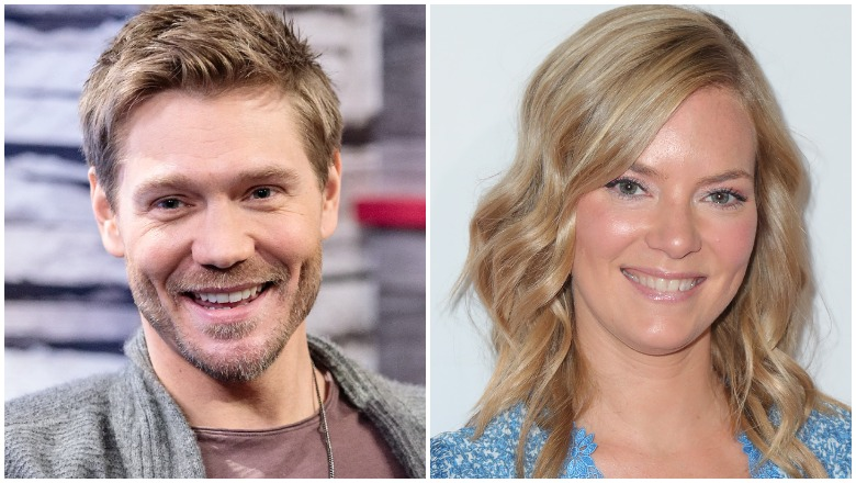 Chad Michael Murray and Cindy Busby