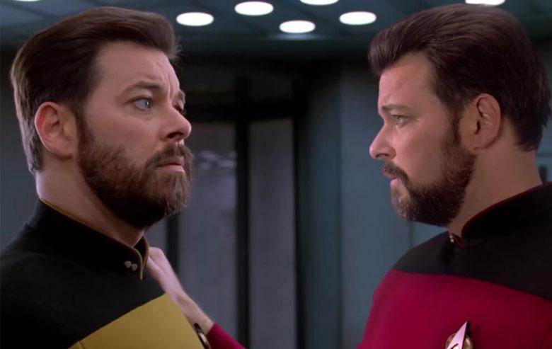 Thomas Riker meets Will Riker
