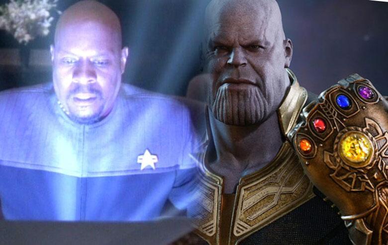 Captain Sisko and Thanos