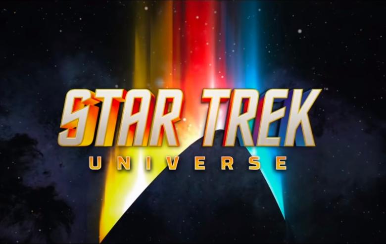"""Star Trek"" universe logo from Paramount+ teaser trailer"