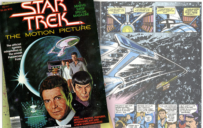"""""""Star Trek: The Motion Picture"""" was a poor seller for Marvel Comics"""