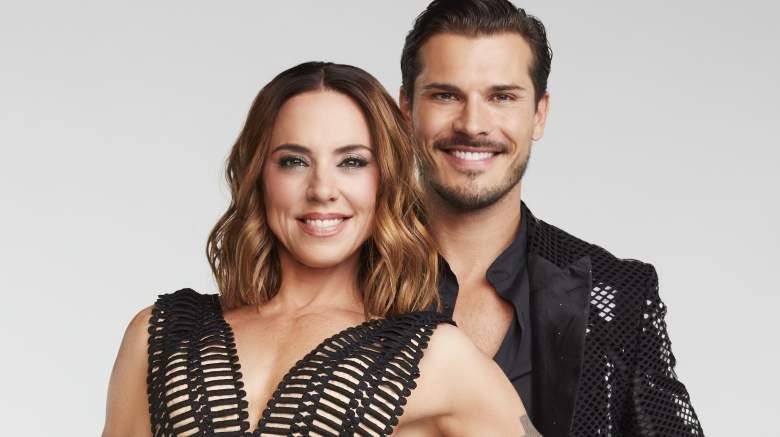 """""""Dancing with the Stars"""" stars Melanie C and Gleb Savchenko."""