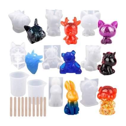 3D Animal Resin Molds