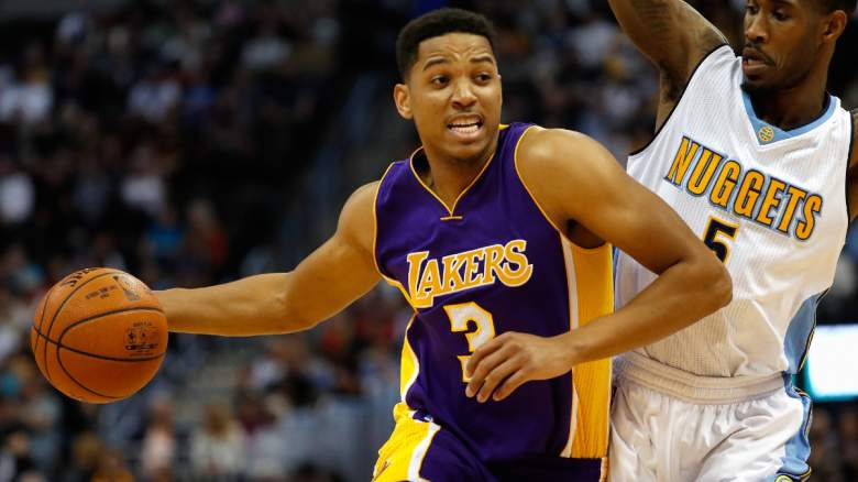 Anthony Brown LA Lakers