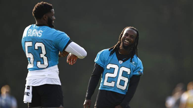 Brian Burns and Donte Jackson