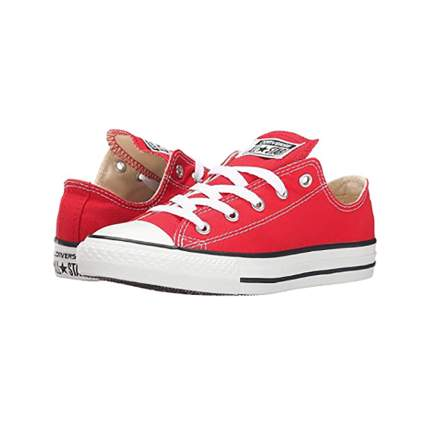 red converse chuck taylor sneakers